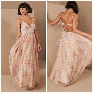 Needle & Thread Ruby Bloom Maxi Dress size 2